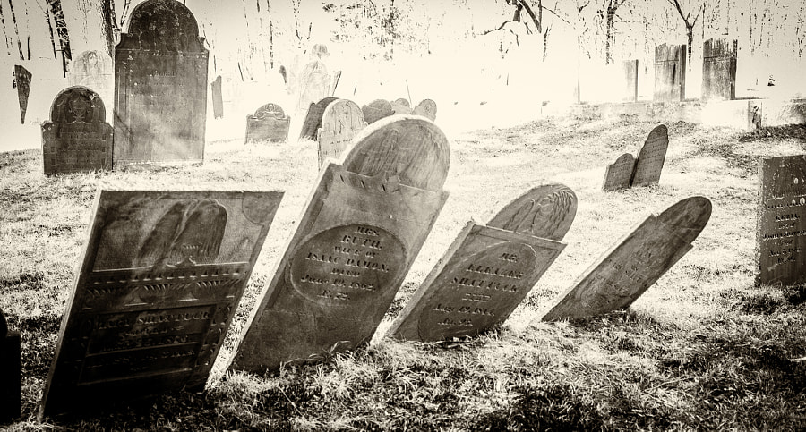 Ashby First Parish Burying Ground by John Poltrack on 500px.com