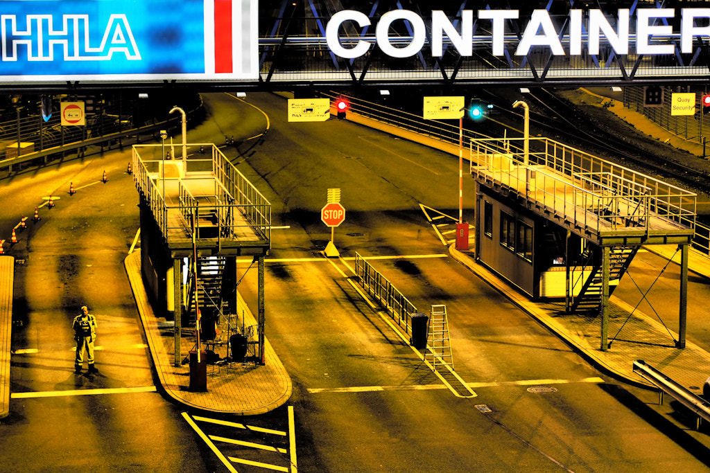 Photograph The Containerterminal by Andreas Kollmorgen on 500px
