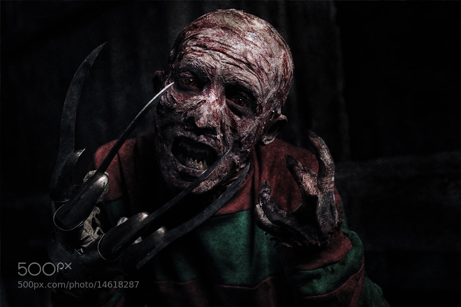 Photograph Portrait of Freddy Krueger  by Mieke Suharini on 500px
