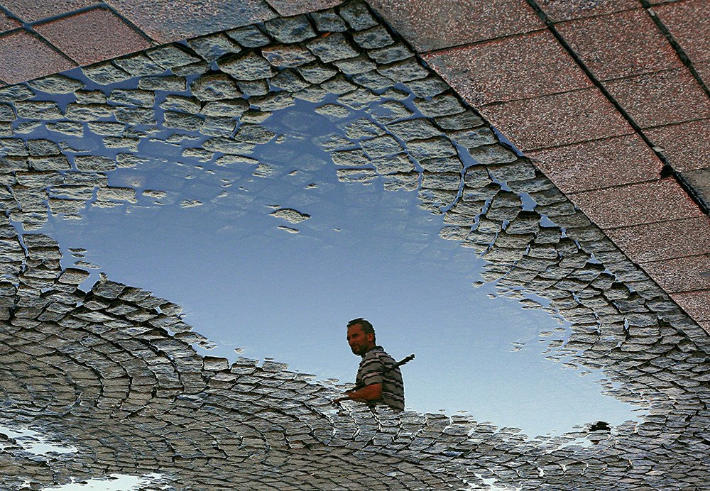 Photograph Reflection of Fisher by Onur Gokkus on 500px