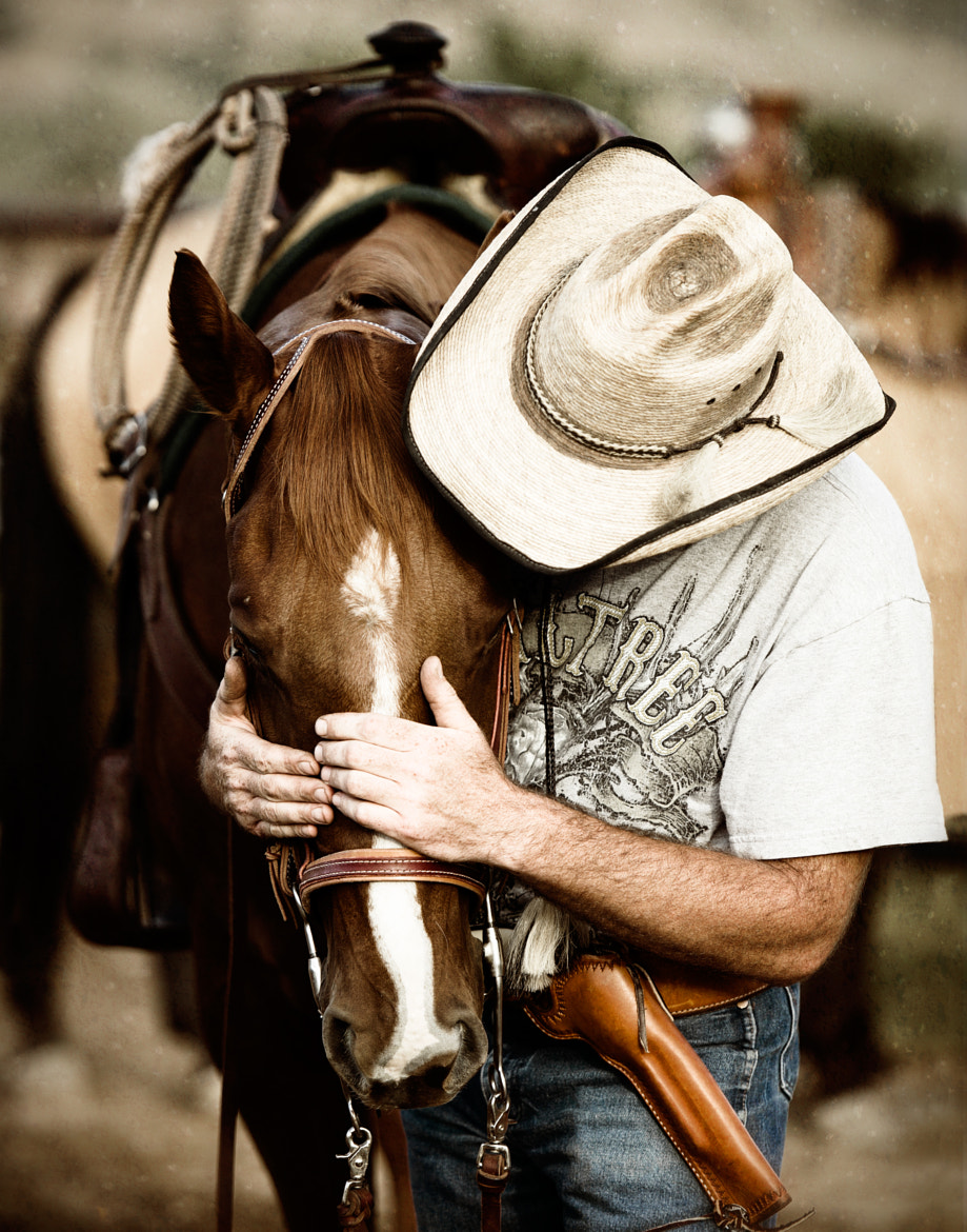 Photograph Bob and his Horse by Almighty  Whitey on 500px