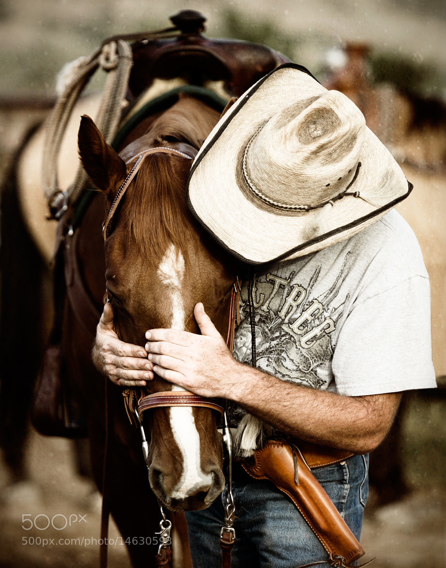 Photograph Bob and his Horse by Josh Ashdown on 500px