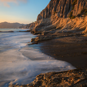 Golden Hour in Shell Beach by Mark Gvazdinskas (silentgphotography)) on 500px.com
