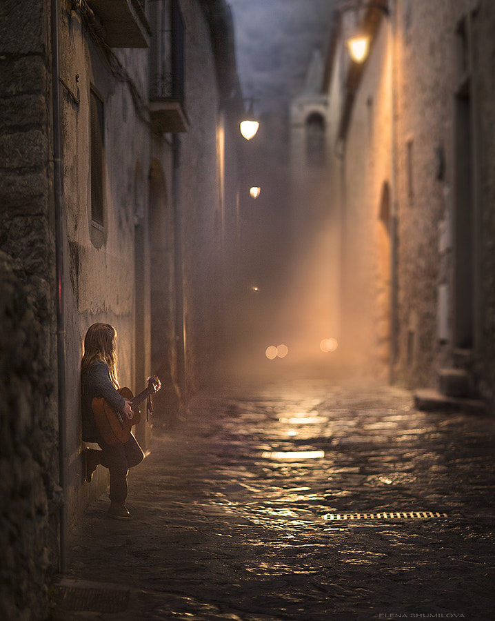 Streets of Catalonia.... from my workshop in Spain. by Elena Shumilova on 500px.com