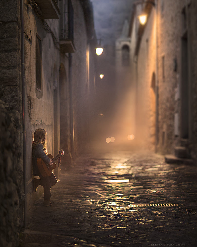 Streets of Catalunia.... from my workshop in Spain. by Elena Shumilova on 500px