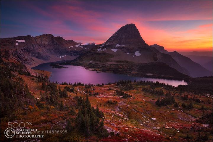 Photograph Autumn Sunset, Glacier NP by Zack Schnepf on 500px