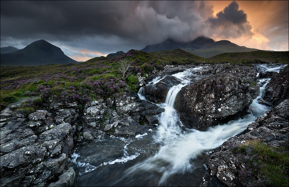 Photograph [ ... the burning cuillins ] by D-P  Photography on 500px