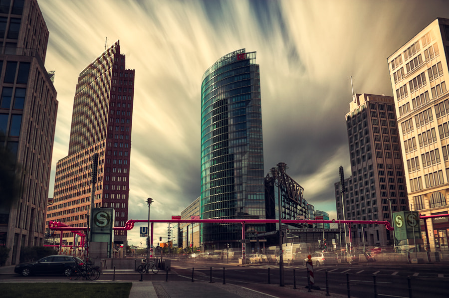 Photograph Skies over Potsdamer Platz by Max Vysota on 500px