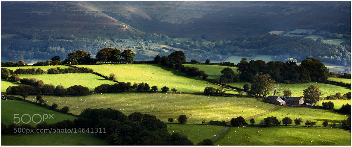 Photograph Farm On the Hill by Alan Coles on 500px