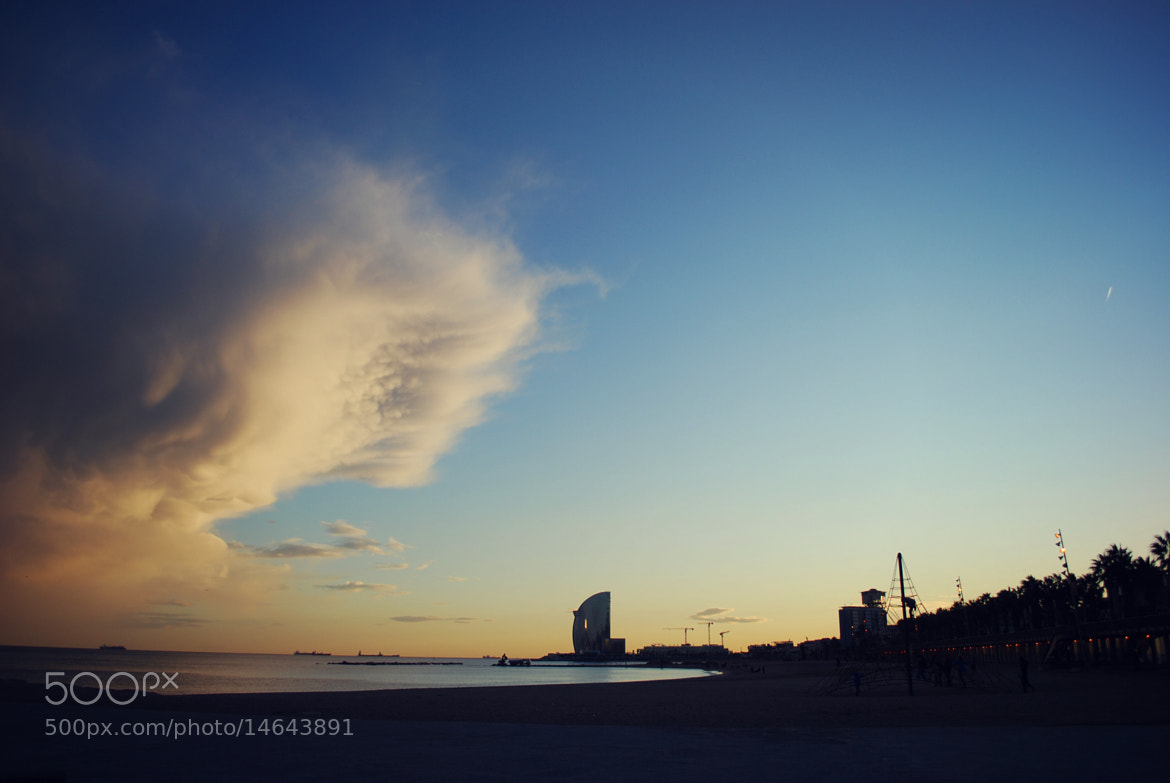 Photograph Sunset in Barcelona by Giulia Barbieri on 500px