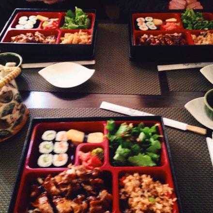 My firs mean in sushi bar ^_^