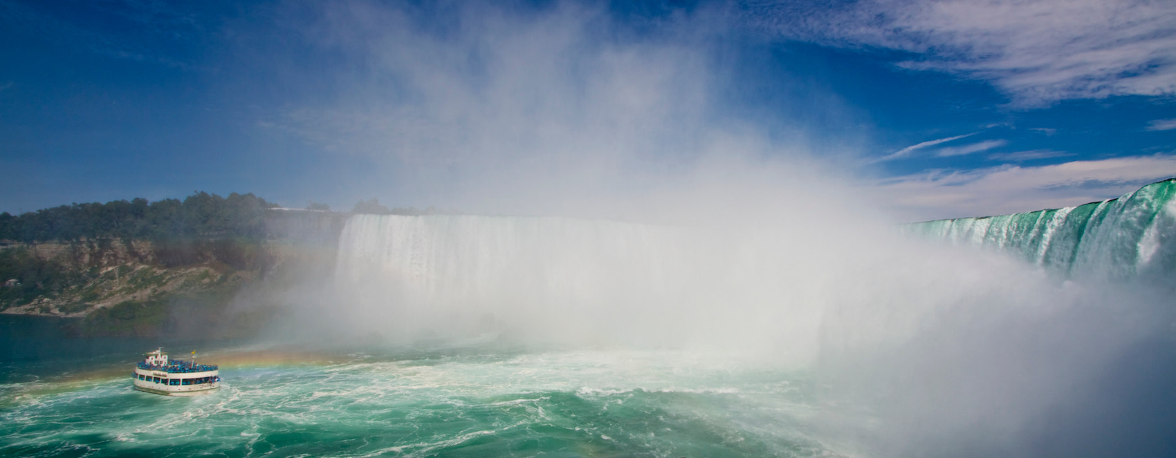 Photograph Niagara Falls and Maid of the Mist by Shane McDonald on 500px
