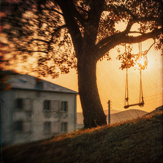 Photograph Swings at Sunrise by Alex Arnaoudov on 500px