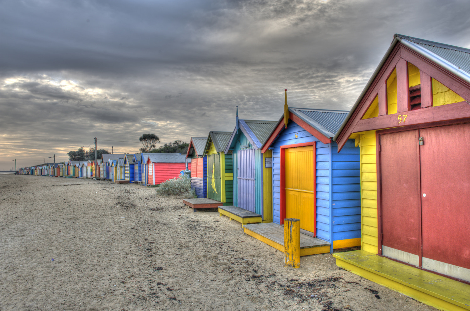 Photograph Brighton Beach Huts Melbourne by Mark  on 500px