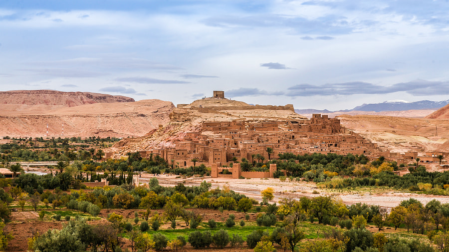 Aït Benhaddou Ksar by Ed Sam on 500px.com