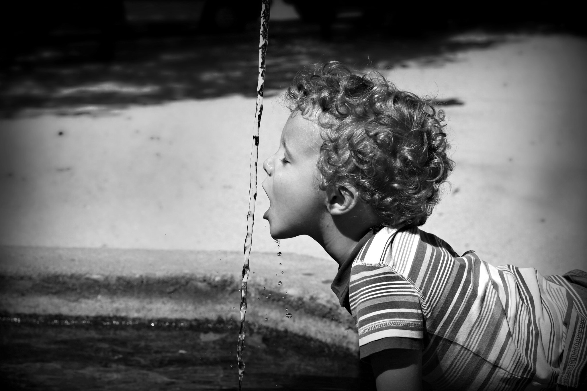 Photograph A small thirst by Sandrine Fernandes on 500px