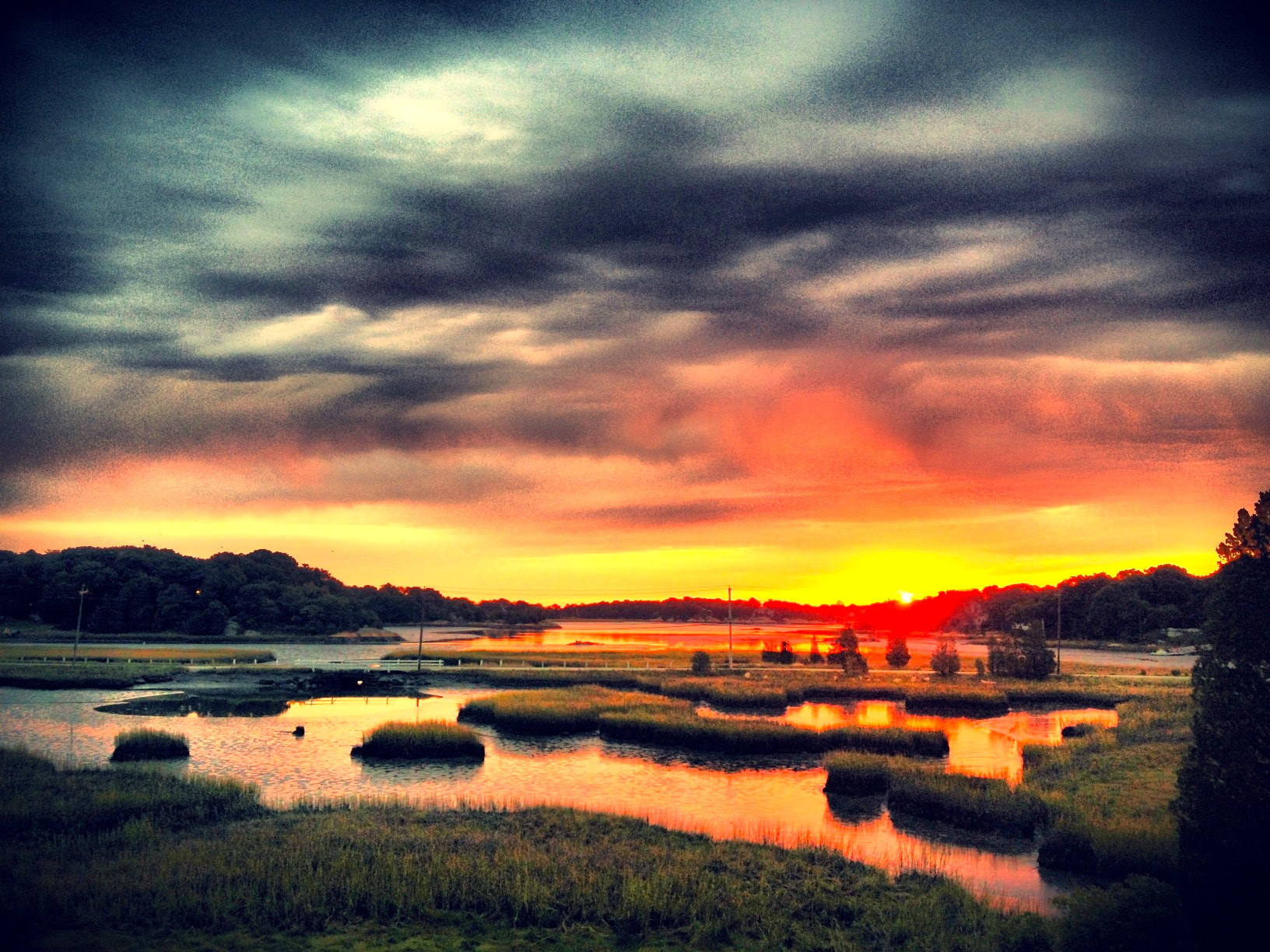 Photograph Sunrise at 31 Bow Street, Cohasset waterfront, waterfront homes, Boston, waterfront homes, Boston re by Doug Eymer on 500px