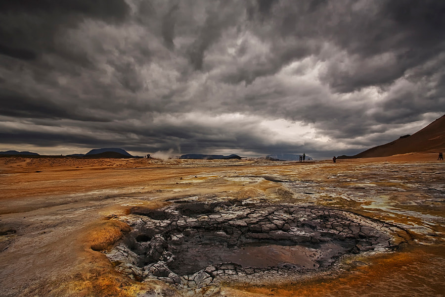 Photograph Geothermal Area by Þorsteinn H Ingibergsson on 500px
