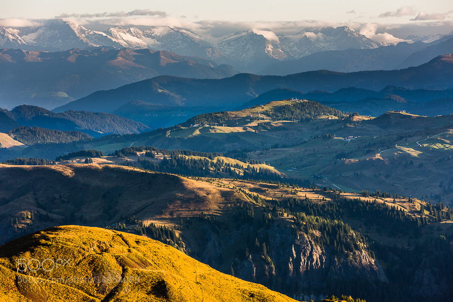 Photograph Passo Padon Morning View by Hans Kruse on 500px