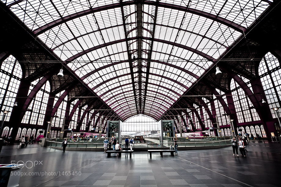 Photograph Train Station Antwerp by Dennis Ekelschot on 500px