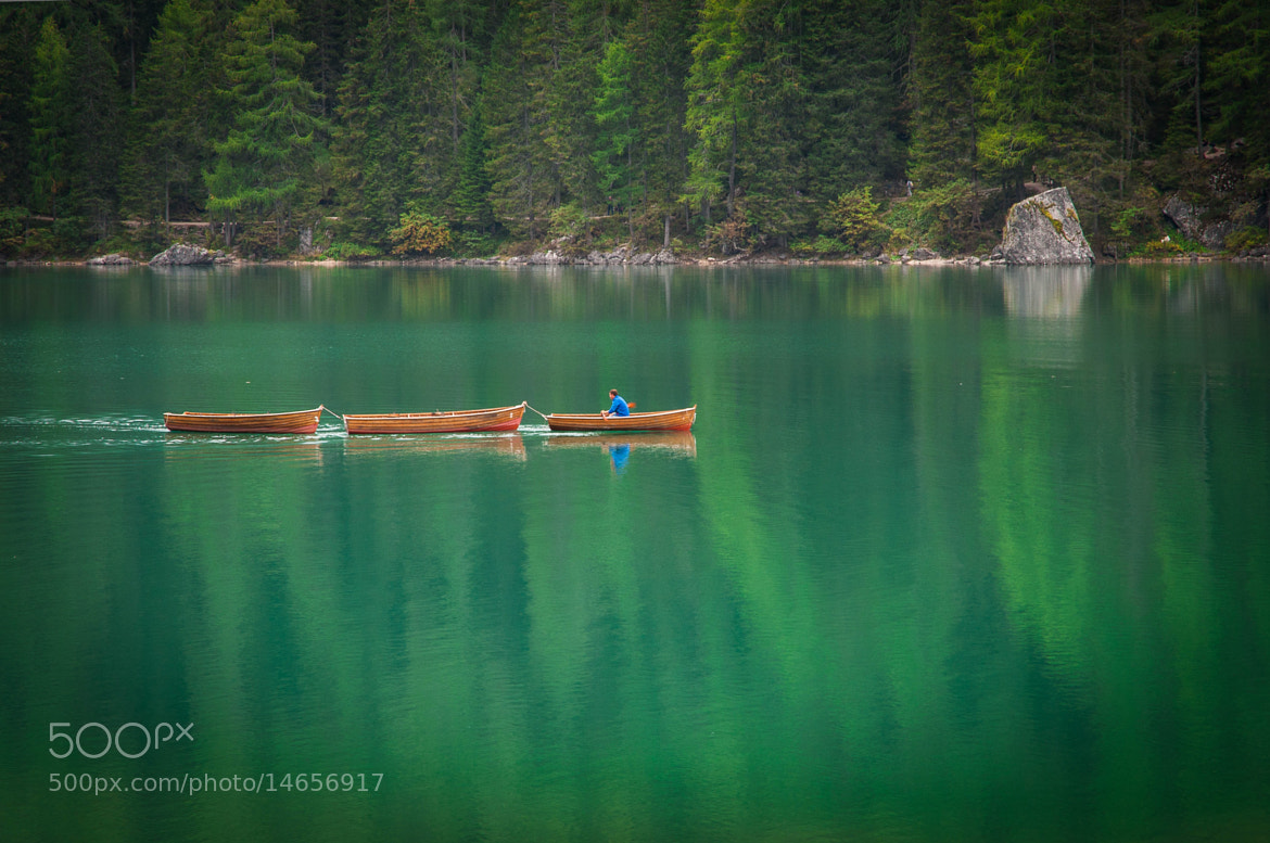 Photograph Verde Braies by Michele Fornaciari on 500px