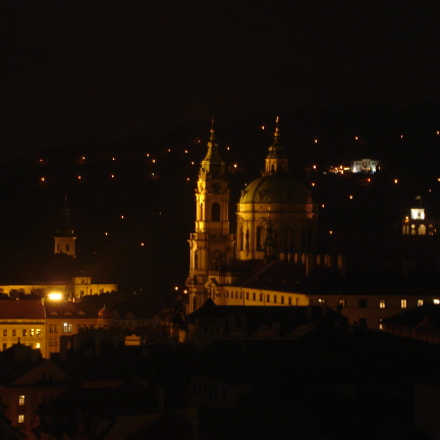 Night in Prague, Sony DSC-S40