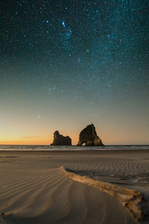 Wharariki Beach by Gordian Schuster on 500px.com
