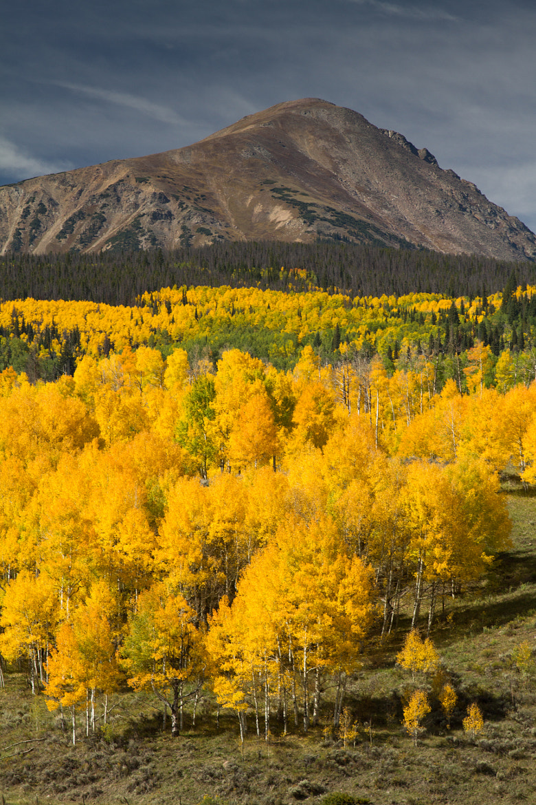 Photograph red mountain, colorado by L. Richmond on 500px