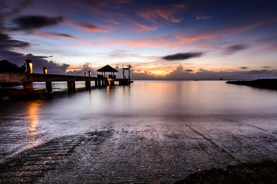 Slipway to the Aquarium - Palau