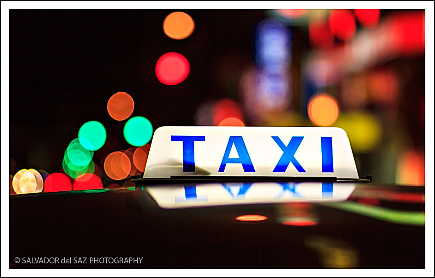 Photograph Taipei's Cabs II by Salvador del Saz on 500px