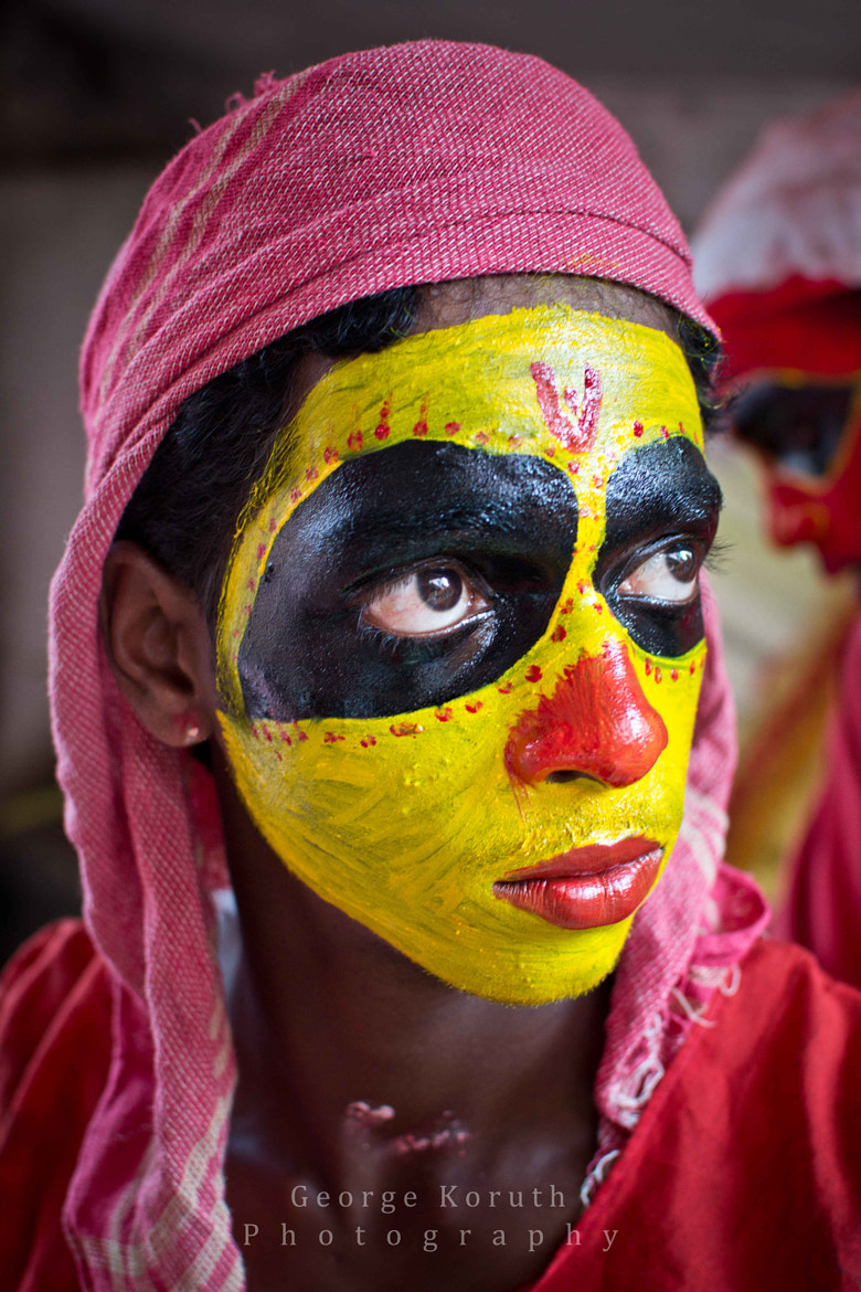 Photograph Theyyam Artist by George Koruth - fotobaba on 500px