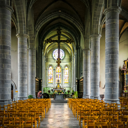 Eglise Saint-Pierre et Saint-Paul à Chimay