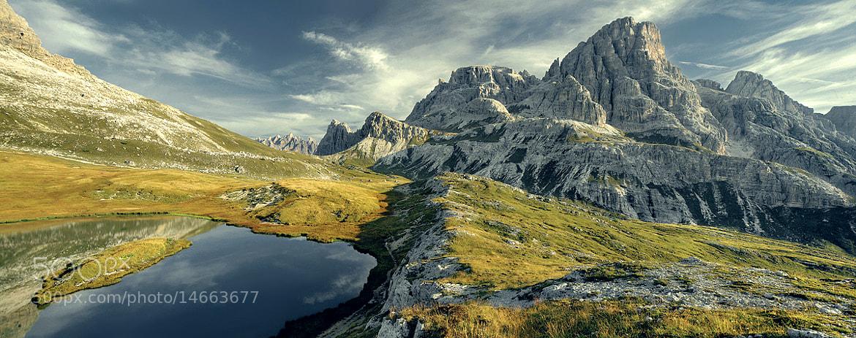 Photograph Dolomites - Lake Meadow Mountain by Kilian Schönberger on 500px
