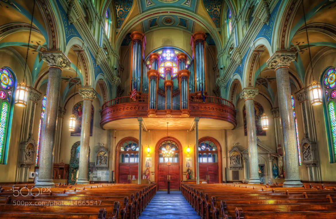 Photograph Old St Mary's Church - Detroit by Marc Perrella on 500px