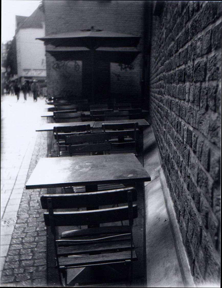 Photograph Crooked Cafe Tables by Meghan Arias on 500px