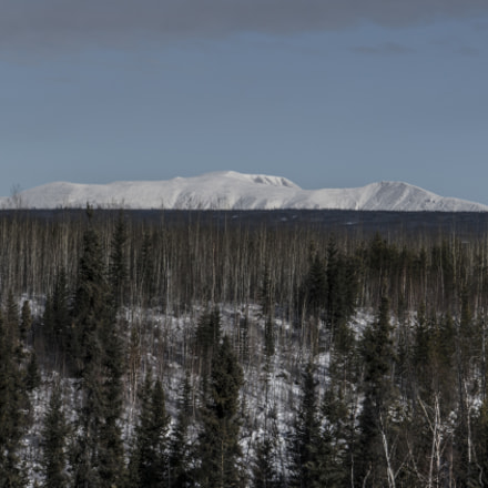 NWT Mountain Range, Sony ILCE-7RM2, Sony E 18-200mm F3.5-6.3 OSS LE