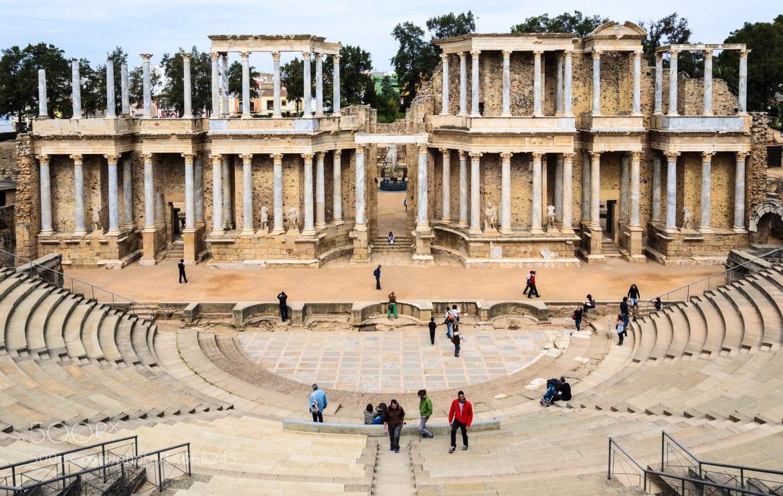 Photograph Mérida, The Roman Theatre by Enrico Maria Crisostomo on 500px