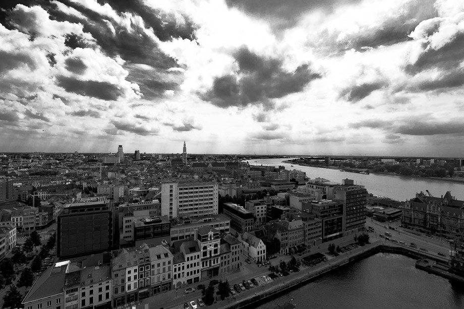 Photograph City view Antwerp by Dennis Ekelschot on 500px