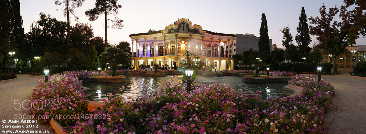Photograph Panorama of Shapouri Pavilion & Garden by Amin Abedini on 500px