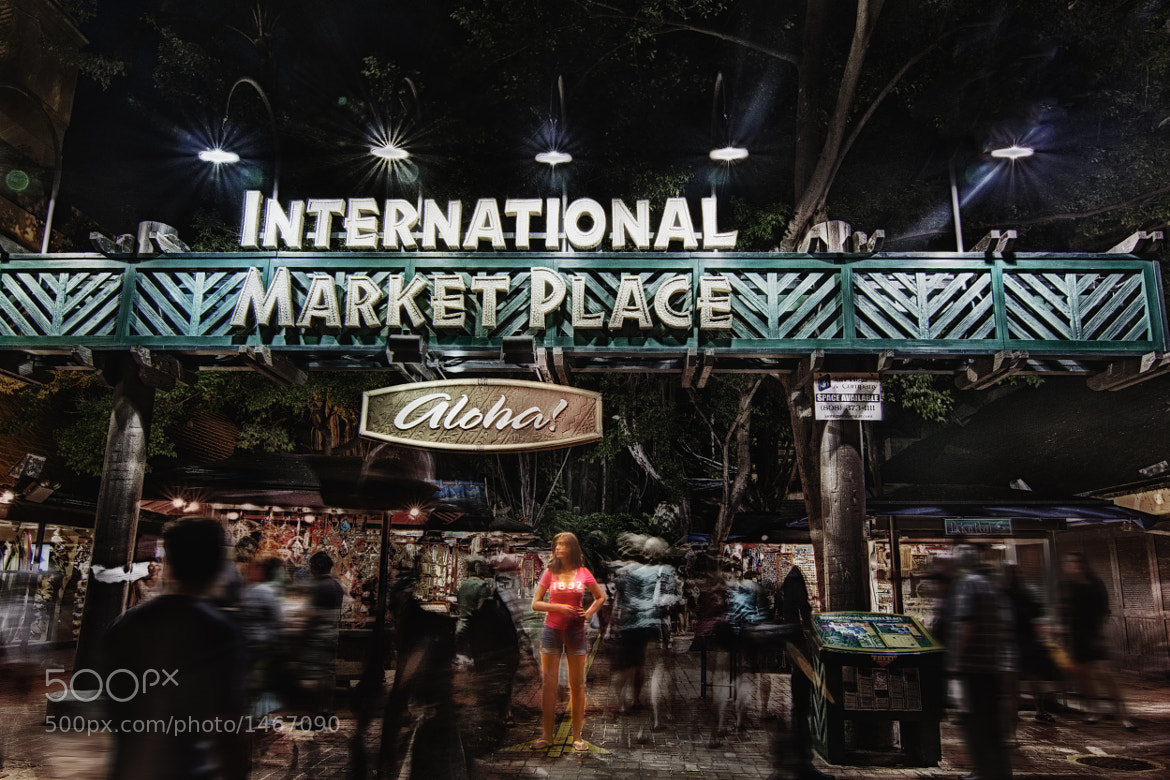 Photograph International Market Place: All by Myself by David Edenfield on 500px