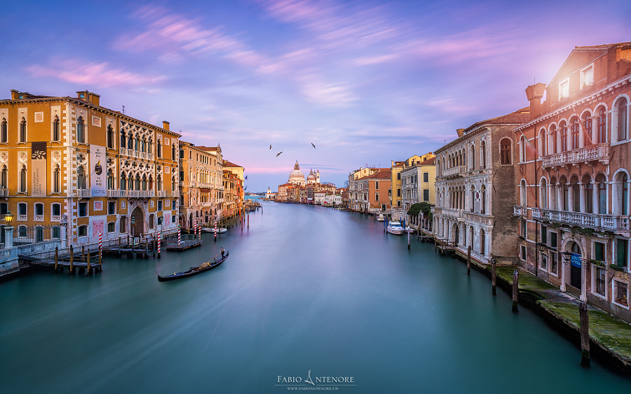 Canale Grande by Fabio Antenore on 500px.com