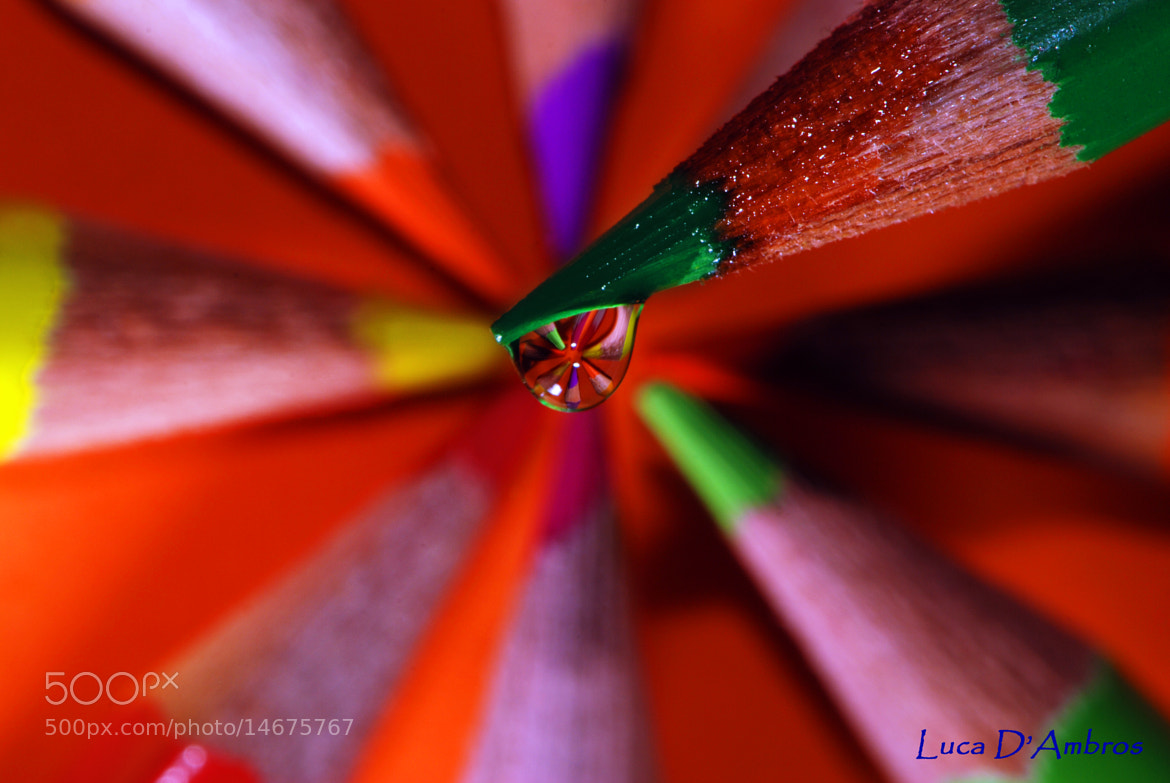 Photograph colored drop by Luca D'Ambros on 500px