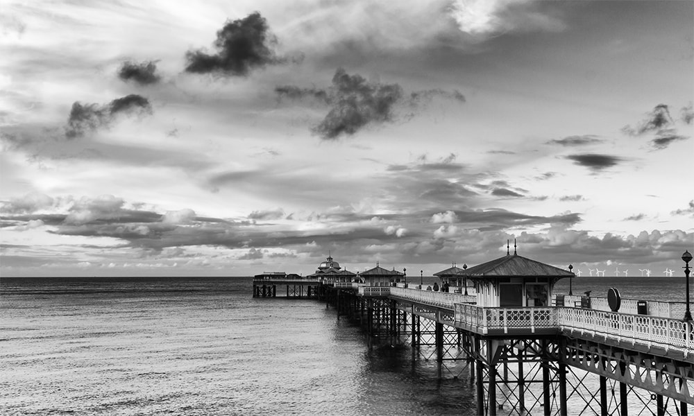 Photograph Clouds Over Llandudno Pier by Anthony Owen-Jones on 500px
