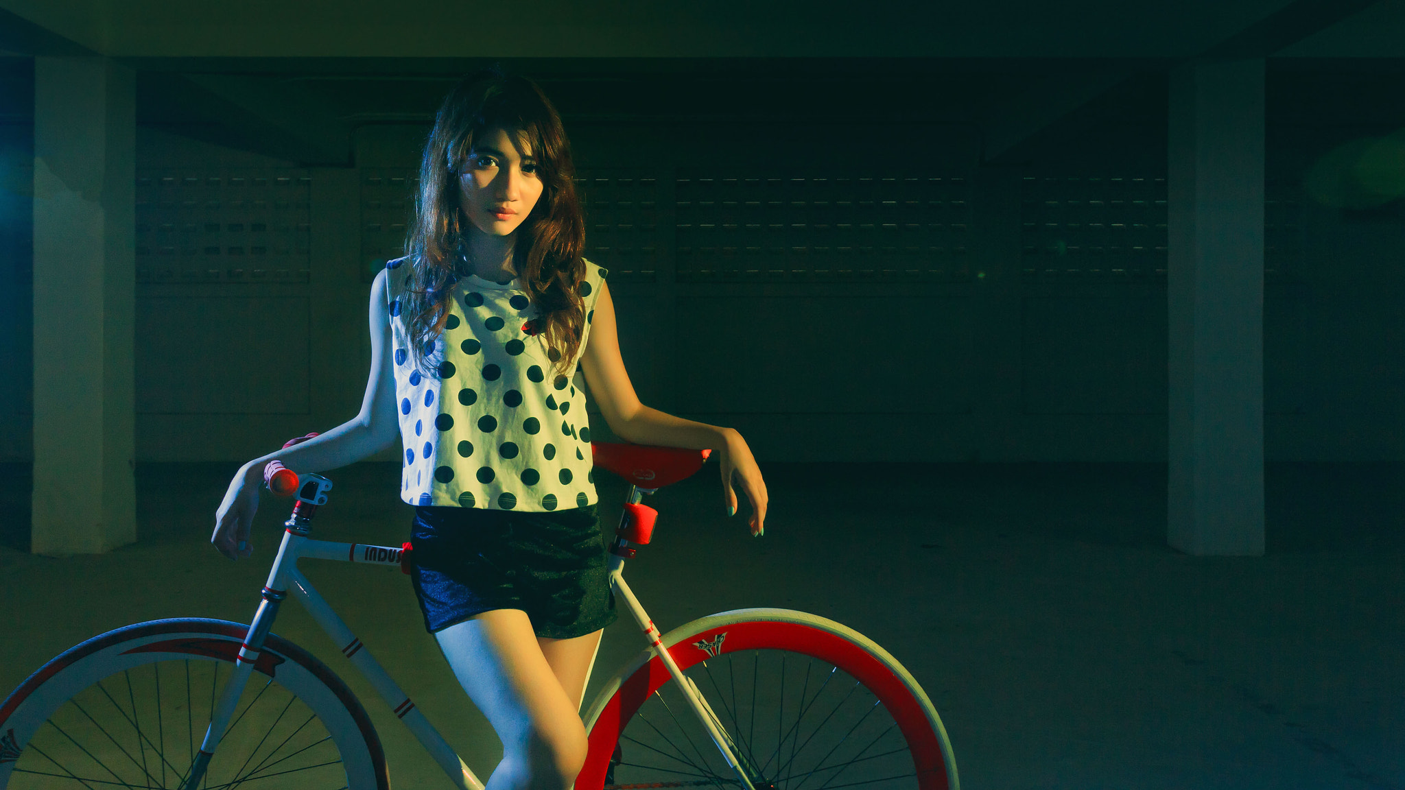 Photograph Fixed Gear Girl by Satawat Khumsongsee on 500px