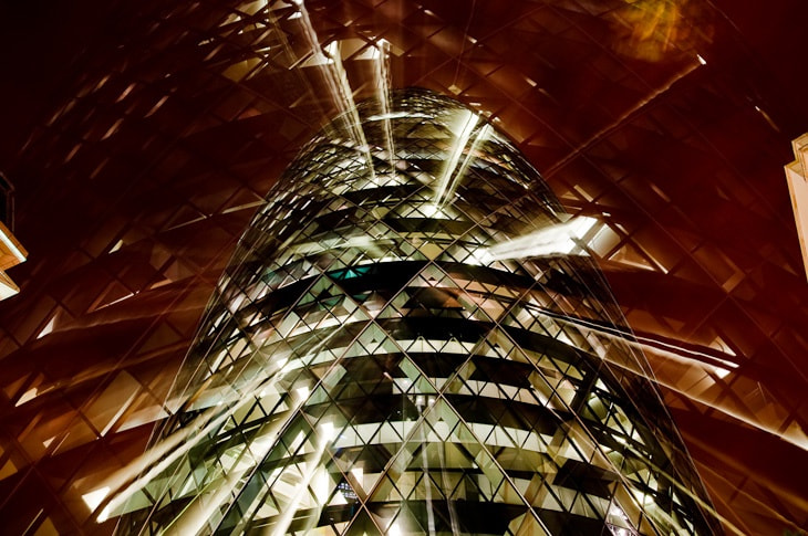 Photograph Swiss Re by Robert Proudfoot on 500px