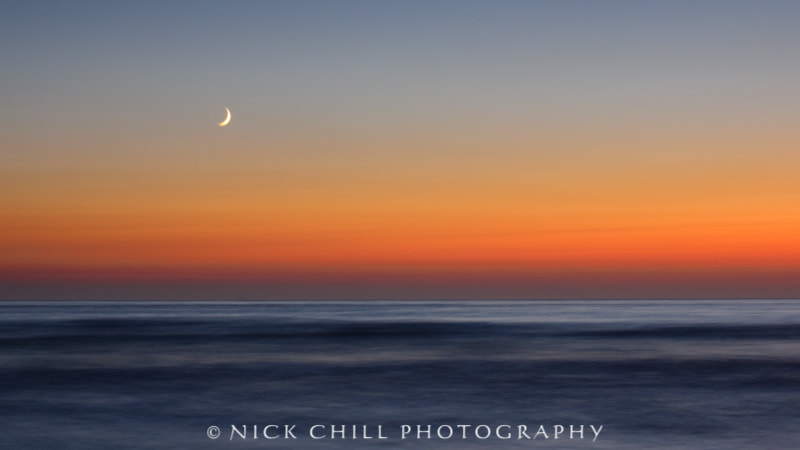 Photograph Moonset by Nick Chill on 500px