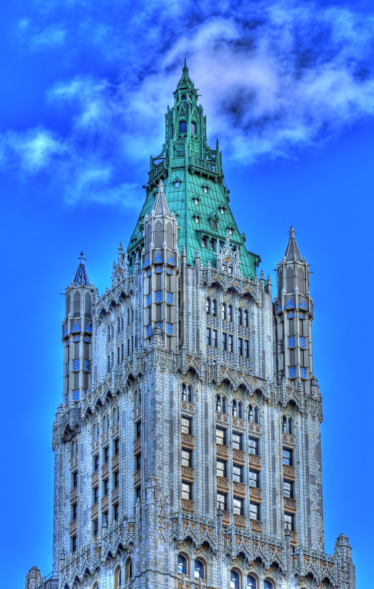 Photograph Woolworth Bldg. (HDR) by Mark Millan on 500px