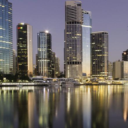 Sunrise on Brisbane River