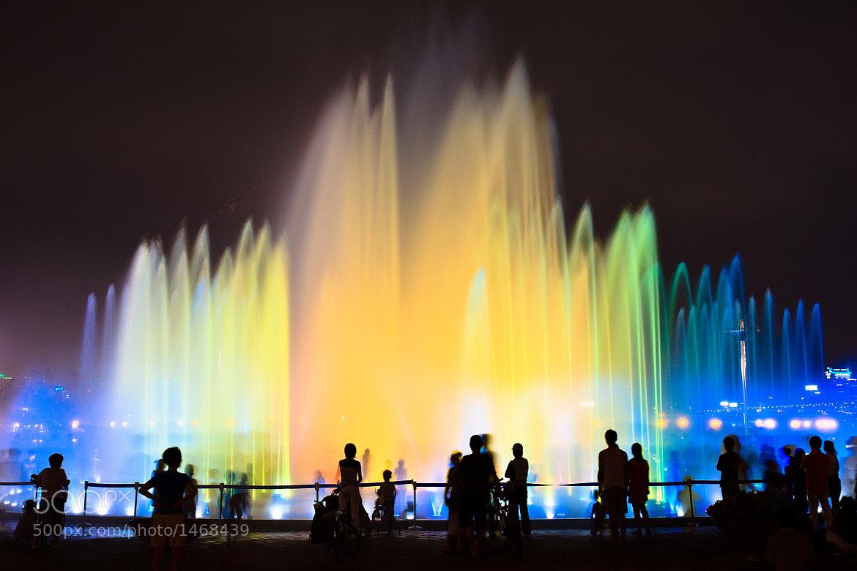 Photograph Rainbow Fountain by Sungjin Kim on 500px
