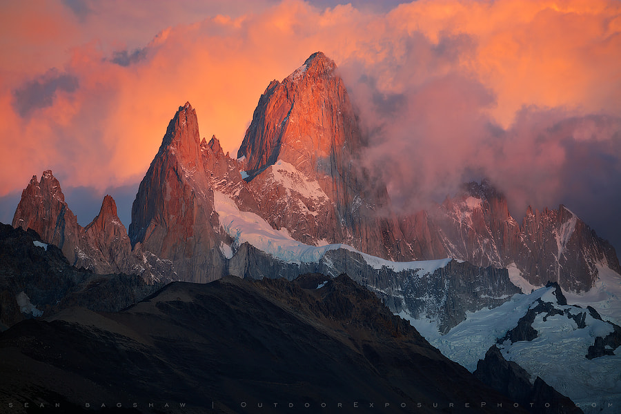 The Smoking Mountain by Sean Bagshaw on 500px - Top 12 Best Landscape Photographers Working Today